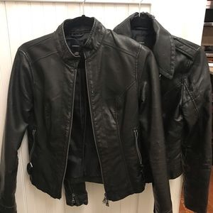 Express Pleather Jackets - 2 for 30!